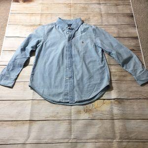 Ralph Lauren Chambray Boys Dress Shirt (U2020)